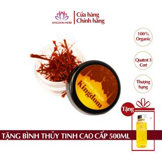 Saffron Kingdom Herb nhụy hoa nghệ tây Iran chính hãng super negin thượng hạng hộp 0.1 gram (mẫu thử) thumbnail