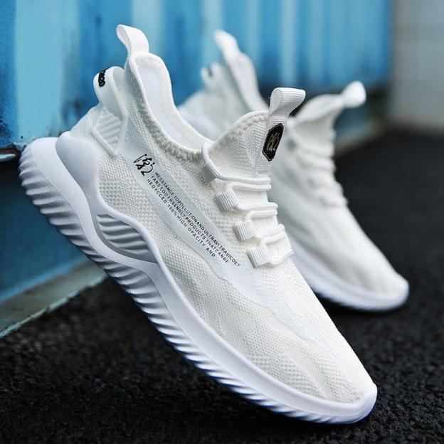 Giày thể thao nam sneaker 2 màu APB chữ sườn cực chất - MinhNhat giá rẻ
