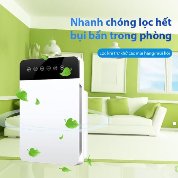 Máy lọc không khí XSQ-KJ-01 tạo ion lọc không khí hiệu quả chế độ tự động trừ khử các mùi hăng mùi hôi nhanh chóng có màn hình hiển thị lọc sâu PM 2.5 thích hợp cho mọi gia đình
