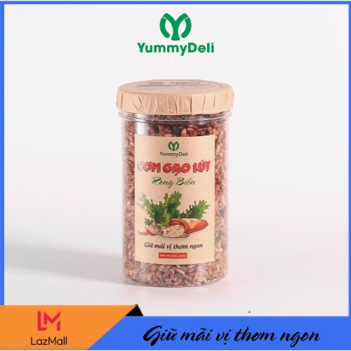 Cơm Gạo Lứt Rong Biển YummyDeli - 250g Bữa ăn Sáng Tiện Dụng Với Giá Sốc