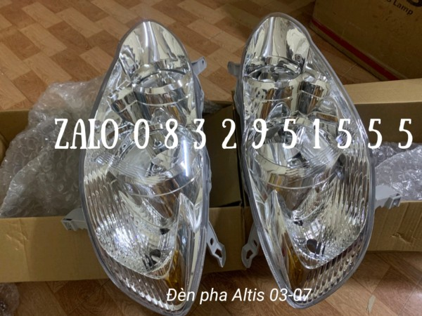 Đèn pha Altis 03-07 ( giá 750 = 1 cái )