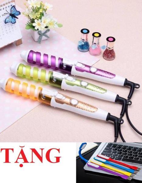 [QUÁ RẺ] Máy Uốn Tóc Xoắn Ốc shinon Sh-8972 (Tặng kèm đèn Led USB) tốt nhất
