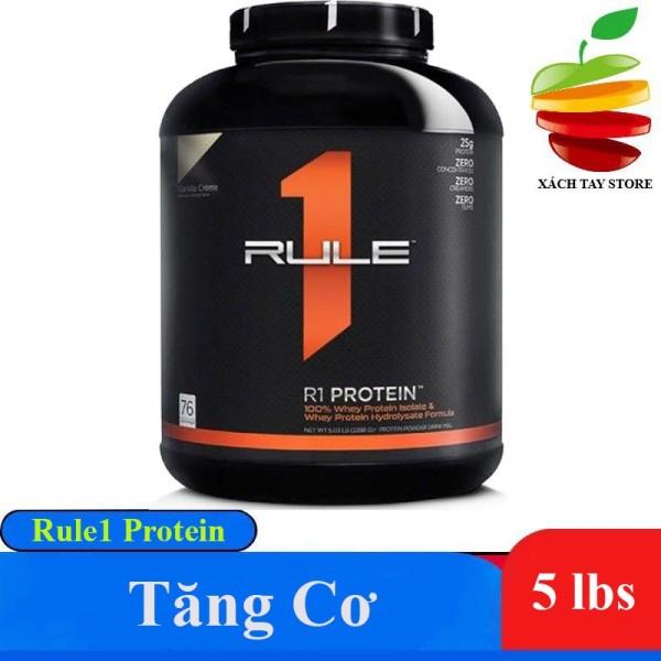 Sữa Tăng Cơ Cao Cấp Rule 1 Protein 5lbs - 76 serving ( Chính Hãng ) - Cafe Mocha