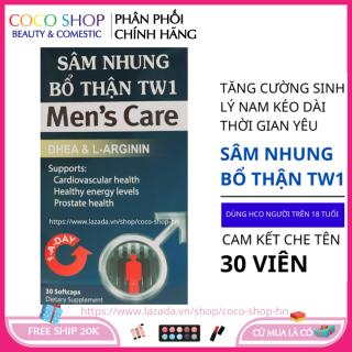 Tăng cường sinh lý nam giới hộp 30 viên HSD 2023 kéo dài thời gian quan hệ sâm nhung bổ thận TW1 thumbnail