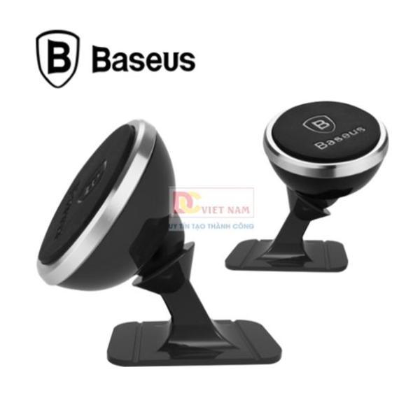 Giá đỡ điện thoại gắn Taplo xe hơi, ô tô  thương hiệu Baseus SUGENT-NT0S ( màu đen bạc )