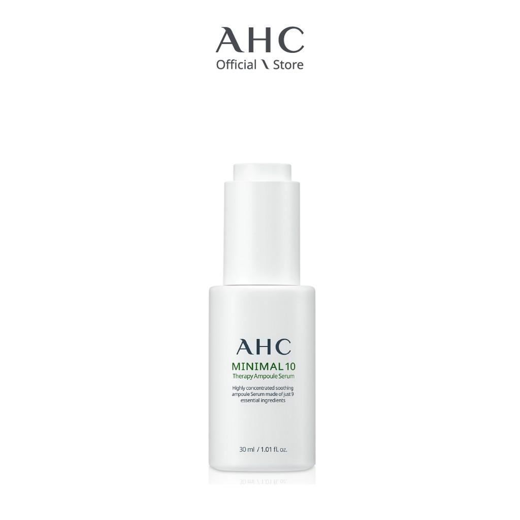 Tinh Chất Dành Cho Da Nhạy Cảm AHC Minimal 10 Therapy Ampoule Serum (30ml)