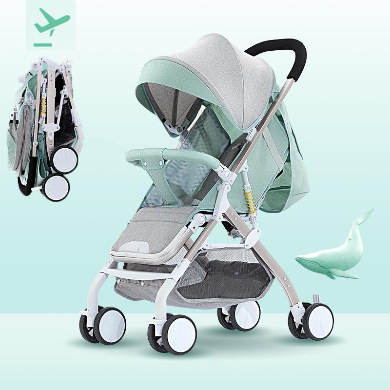 Xe đẩy trẻ em du lịch gấp gọn siêu nhẹ...