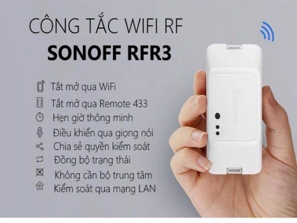 Công tắc WiFi RF phiên bản 3 RFR3