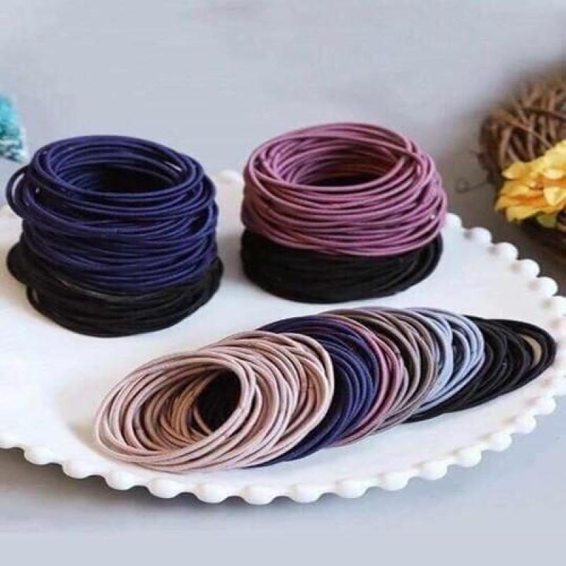 Gói gồm 100 dây cột tóc tốt nhất