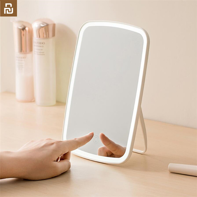 Original Youpin Jor dan judy Intelligent portable makeup mirror desktop led light portable folding light mirror dormitory desktop