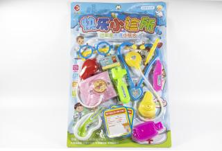 đồ chơi dụng cụ bác sĩ vỉ 11 dụng cụ thumbnail