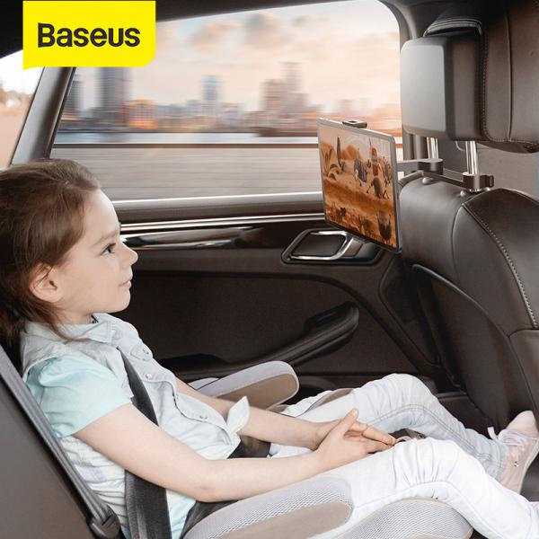 Baseus giá đỡ máy tính bảng 4.7-12.3 inch gắn ghế sau xe hơi thiết kế gập cho Xiaomi Samsung iPad - INTL