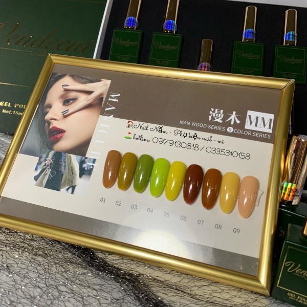 Sơn Gel Vendeeni 9 màu - hàng nhập khẩu tốt nhất