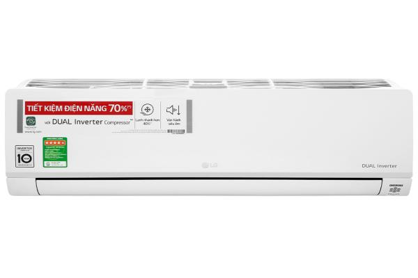 [Trả góp 0%]Máy lạnh LG Inverter 1.5 HP V13API1 - Công suất làm lạnh 12.000 BTU Điều khiển bằng điện thoại Có wifi Tiêu thụ điện 1.03 kW/h