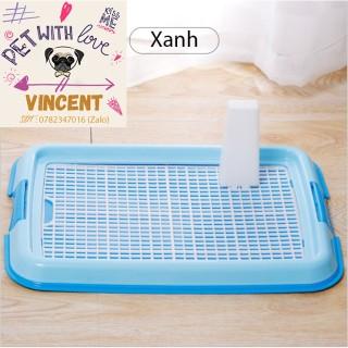 [RẺ NHẤTT][HÀNG CÔNG TY] Khay vệ sinh cho cún - Khay tập cún đi vệ sinh giữ sạch sẽ nhà cửa - Nhựa tốt hàng loại 1 thumbnail