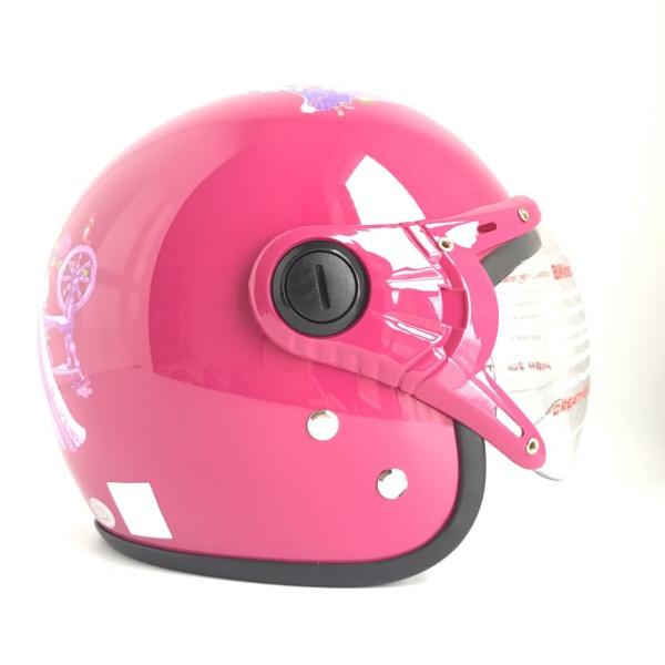 Giá bán Mũ bảo hiểm trẻ em trùm đầu cho bé từ 6 đến 12 tuổi - BKtec - BK32 - Vòng đầu 52-55cm