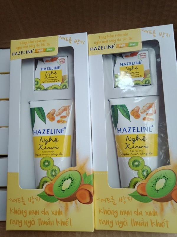 Sữa Rửa Mặt Kiwi Nghê 50g Tặng 1 Nén Kiwi Nghệ 3g