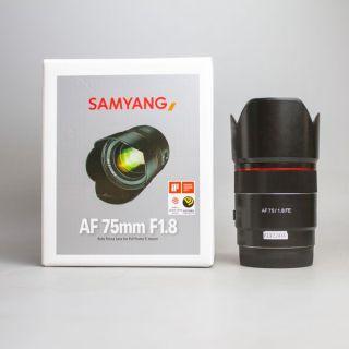 Ống kính máy ảnh Rokinon Samyang 75mm F1.8 FE Fullbox (75 1.8) 18794 thumbnail