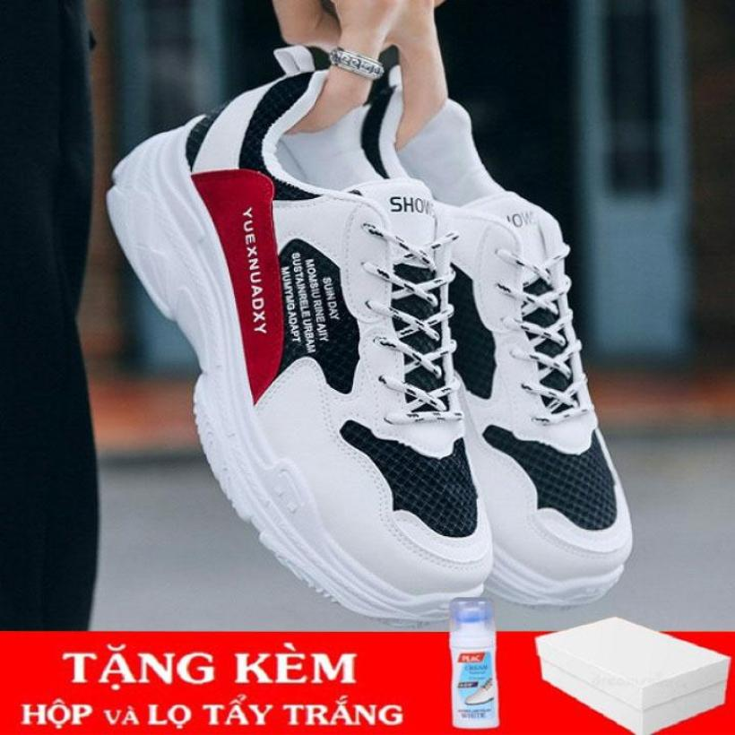Giày Sneaker nam thể thao thời trang Quang Anh Shop GN - 283 (tặng kèm lọ tẩy trắng giày) giá rẻ