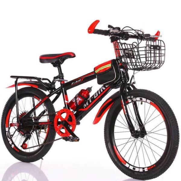Mua xe đạp thể thao 22 inh (8-12 tuổi) TẶNG KÈM GIỎ VÀ GÁCBAGA