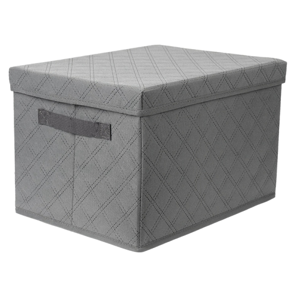 Storage Bins with Lids, for Toy Storage, Books, DVDs and Clothing Storage, Collapsible Storage Bins Suitable for Kids and Adult At School/Office/Home