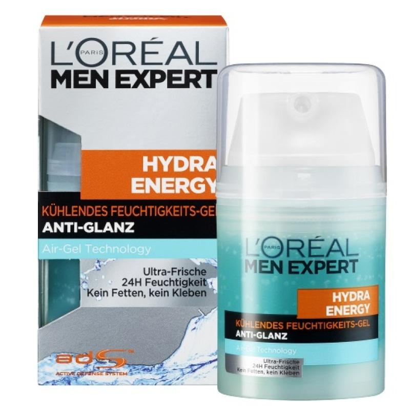 Kem dưỡng da kiềm dầu dành cho nam Loreal Hydra Enegry Anti Glanz 50ml giá rẻ