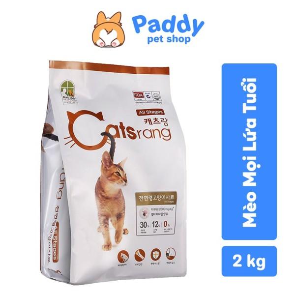 Catsrang thức ăn hạt cho mèo mọi lứa tuổi - 400g