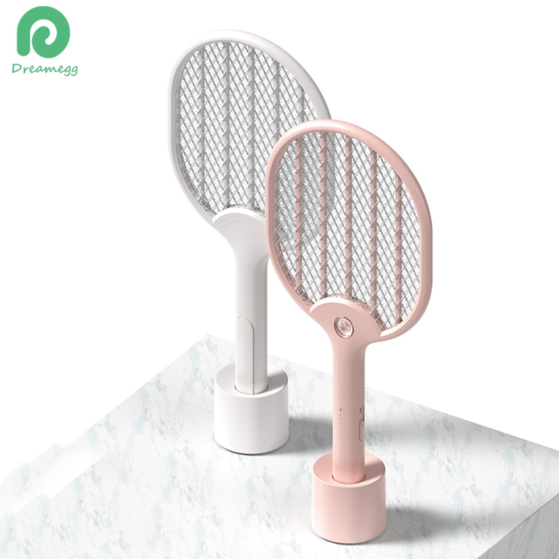 Đèn điện xông Swatter Sạc Bay Swatter Zapper có ĐÈN LED 3 Lớp An Toàn Lưới Chống Muỗi Swatter Trong Nhà Ngoài Trời Micro dây cáp USB Sạc Có Chân Đế