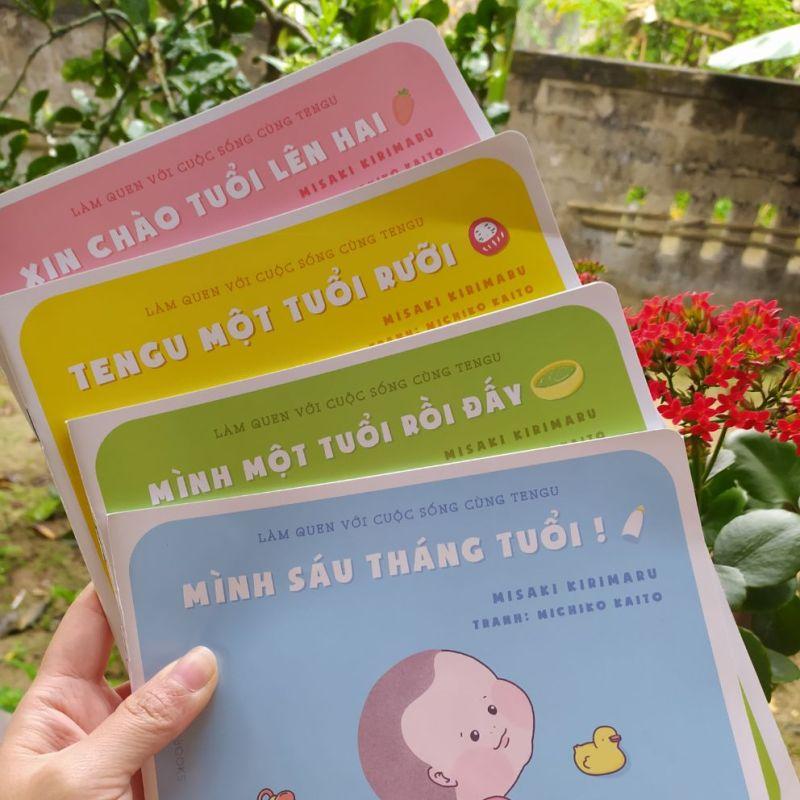 """Mua Bộ sách Ehon """"Làm quen với cuộc sống cùng Tengu"""""""