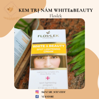 Kem làm sáng da White & Beauty - Spot Lightening Cream White & Beauty - Spot Lightening Cream Floslek 50ml thumbnail