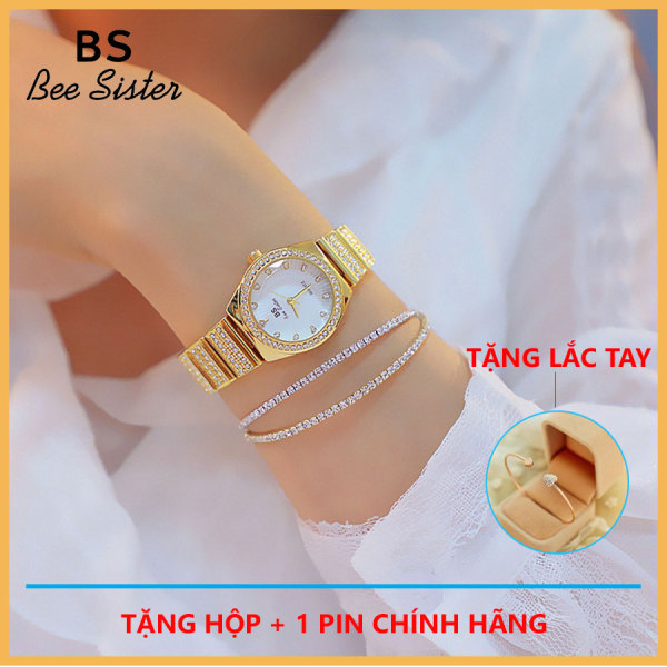Đồng hồ nữ Bee Sister FA1600 khảm đá sang trọng bán chạy