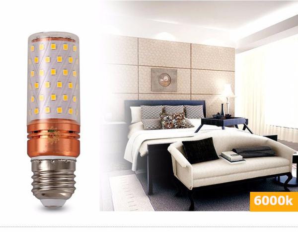 Bảng giá Bóng đèn led đui xoáy E27 công suất 12W ánh sáng tự nhiên 6000K sản xuất từ các chất lượng cao cấp cho anh sáng tự nhiên không hại mắt khi sử dụng