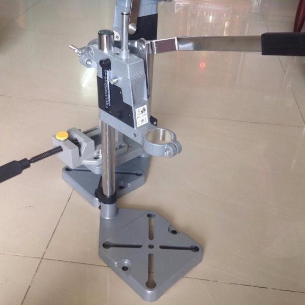 khung gắn máy khoan 1 tầng  TZ 6102 MINI đa năng, dùng cho khoan chính xác trong gỗ; kim loại hoặc nhựa, không bao gồm eto