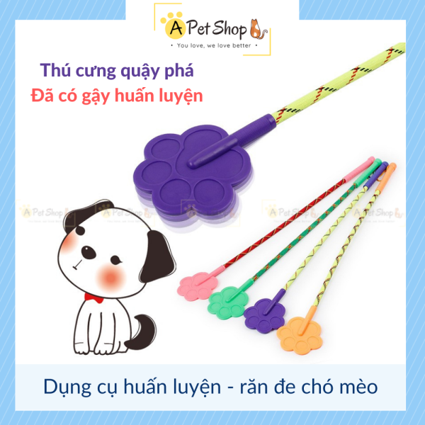 Dụng cụ huấn luyện chó mèo, gậy tét mông răn đe chó mèo siêu dẻo - a pet shop