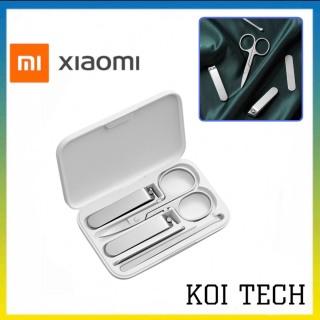 Bộ bấm móng Tay 5 món Xiaomi Mijia - kìm cắt móng tay kềm cắt móng chân làm bằng inox không dỉ thumbnail