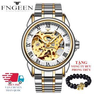 Đồng hồ nam FNGEEN 6688 máy cơ automatic + Tặng vòng tỳ hưu phong thủy thumbnail