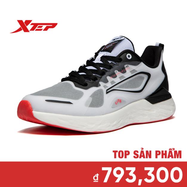 Xtep Giày chạy bộ Nam Thoáng khí, Thoải mái, Lưới, Tổng hợp, Thường, 981319110289 giá rẻ