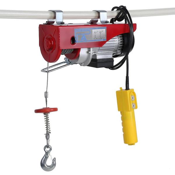 Tời Điện Treo Pa400 (200/400Kg) Màu Đỏ  Cáp 20m