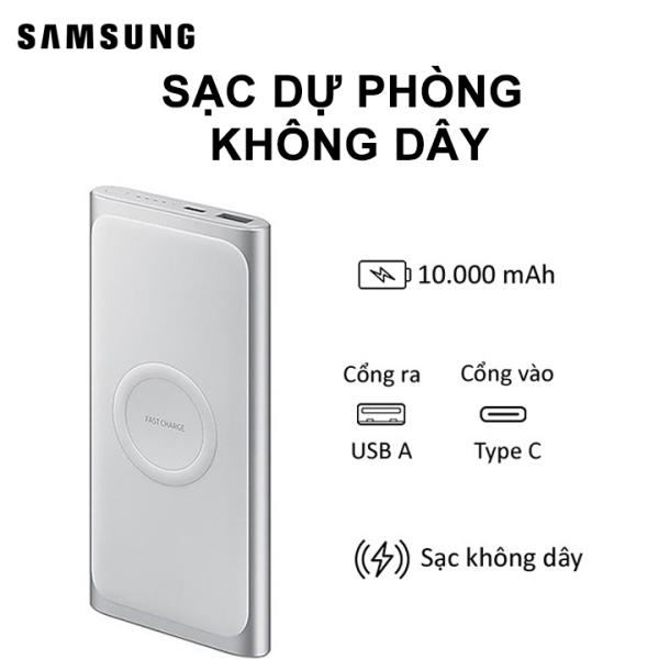 Sạc dự phòng không dây Samsung EB-U1200 - Hàng chính hãng