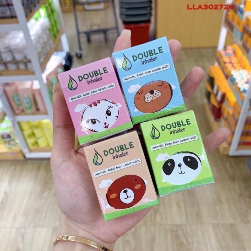 Hít Thông Mũi Viêm Xoang Mũi 2 in 1 Double Inhaler Thái lan