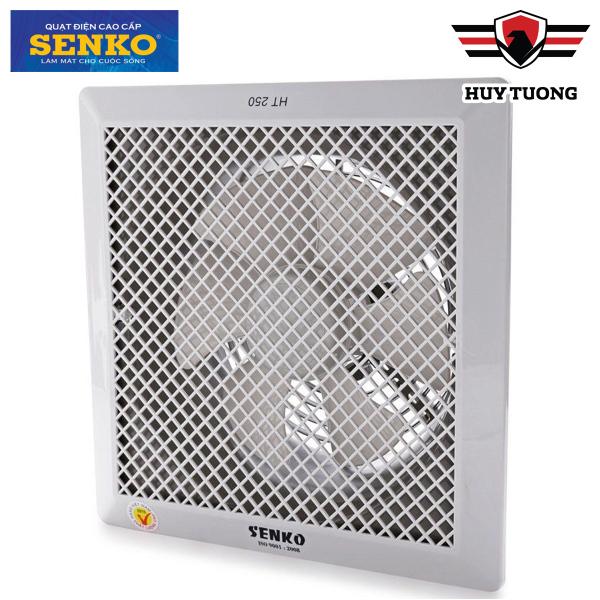 Quạt hút thông gió âm trần 1 chiều Senko HT250 40W cao cấp - Huy Tưởng