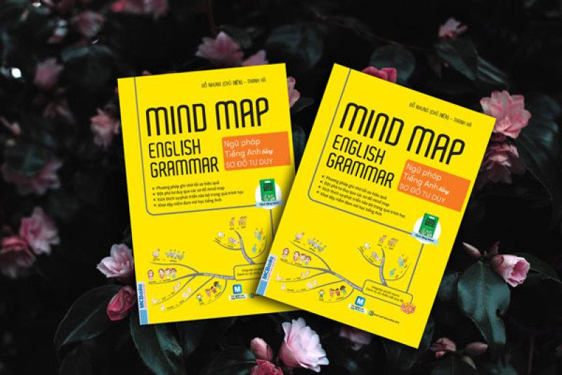 Sách - Mind Map English Grammar - Ngữ Pháp Tiếng Anh Bằng Sơ Đồ Tư Duy- Sách In Chất Lượng Cao, Bản Gốc.