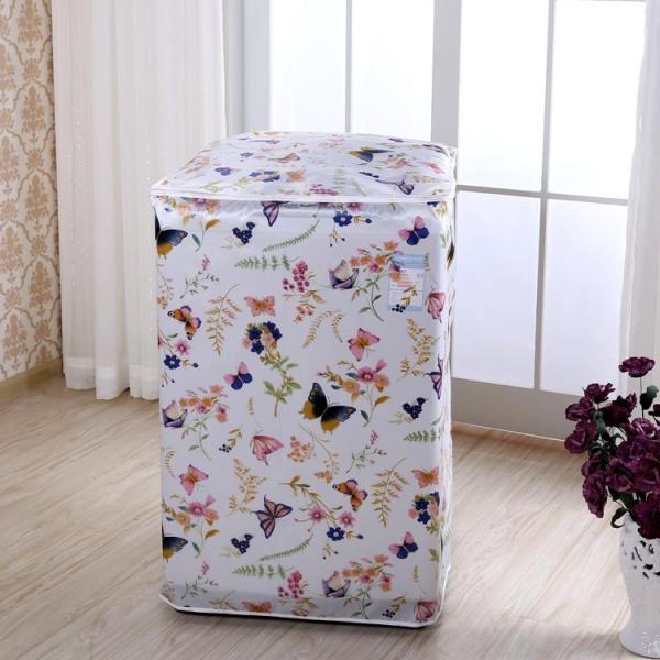 Bảng giá Áo Trùm Máy Giặt Cửa Trên Vải Dù Size 7 - 8kg - Kara House ( Hoa Văn Bông ) Điện máy Pico