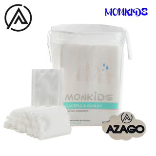 Bông tẩy trang 100% cotton 3 lớp mềm mịn thấm hút cực tốt 100 miếng bịch - Thương Hiệu MONKIDS thumbnail