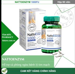 NattoEnzym DHG 1000 FU [Hộp 60 viên] - Nattokinase - [Natto enzym, nattoenzyme, natto enzyme] thumbnail
