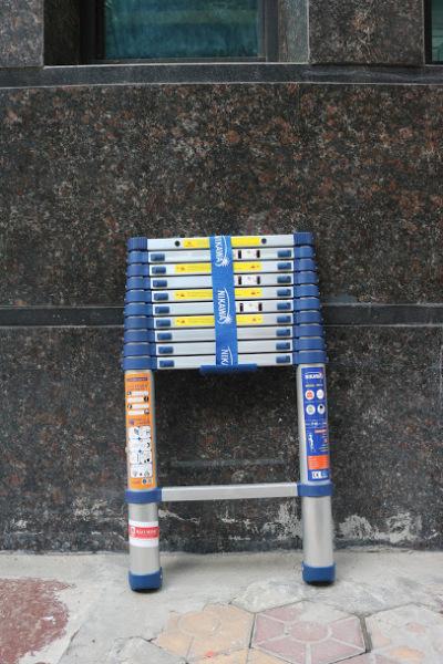 Thang Nhôm Rút Đơn 11 bậc Nikawa NK-32 chiều cao tối đa 3.2m, gọn nhẹ tiện di chuyển