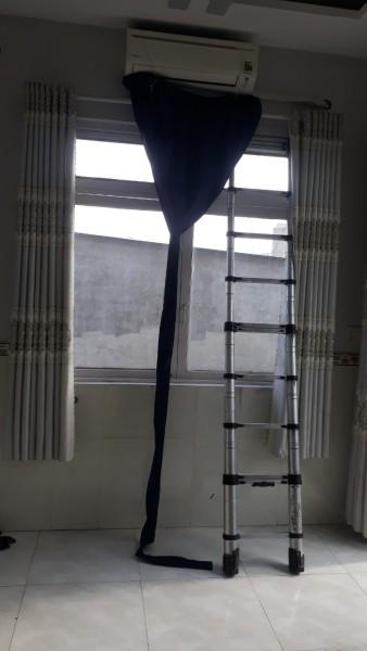 Áo vệ sinh máy lạnh có đuôi loại xịn