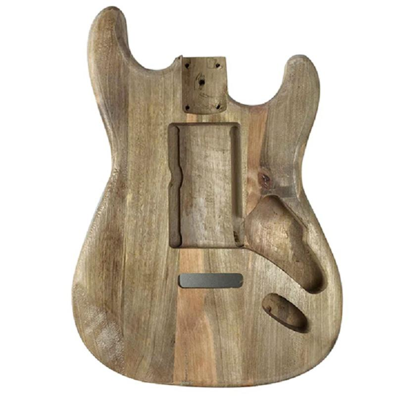 Wood Type Electric Guitar Accessories St Electric Guitar Barrel Material Maple Guitar Barrel Body Maple Guitar Barrel Body