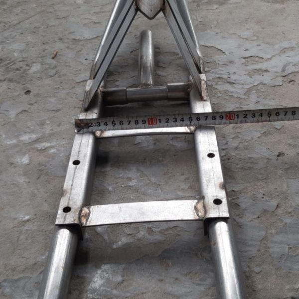 đầu láp đuôi tôm dùng máy 5.5hp đến 7.5 cốt thẳng và xéo inox
