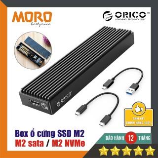 Box ổ cứng SSD M2 Orico - M2 NGFF M2 NVMe - 10Gbps - chính hãng bảo hành 12 tháng thumbnail